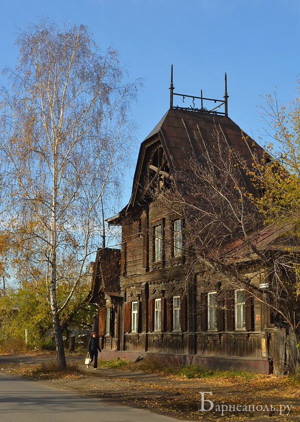 Дом Лесневского, Барнаул